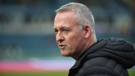 Paul Lambert expects the League One season to be cancelled at Tuesday's meeting. Picture: PAGEPIX LT