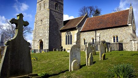 Playford Church, where Thomas Clarkson is remembered Picture: LUCY TAYLOR