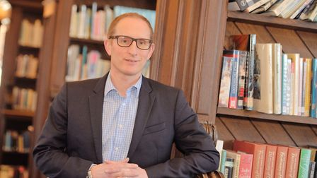 Bruce Leeke is chief executive of Suffolk Libraries. Picture: SARAH LUCY BROWN
