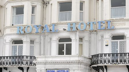 The Royal Hotel in Marine Parade, Great Yarmouth, where Charles Dickens stayed Picture: ARCHANT