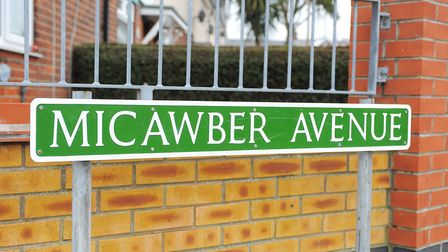 Roads in Great Yarmouth are named after Dickens and his characters Picture: ARCHANT