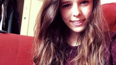 Chloe Bentick, 21, of Stanton, Suffolk, who has been living with Type 1 diabetes since she was diagn