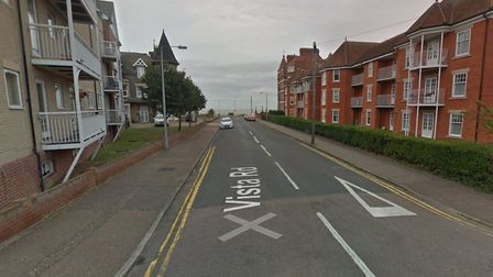 Two people were robbed at knifepoint in Vista Road, Clacton, on Saturday, May 30. Picture: GOOGLE MA