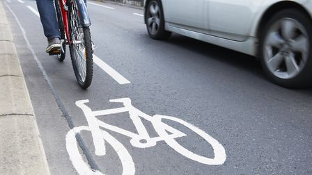 More cycle lanes - and other road changes - are to be put in place in Suffolk towns to encourage peo