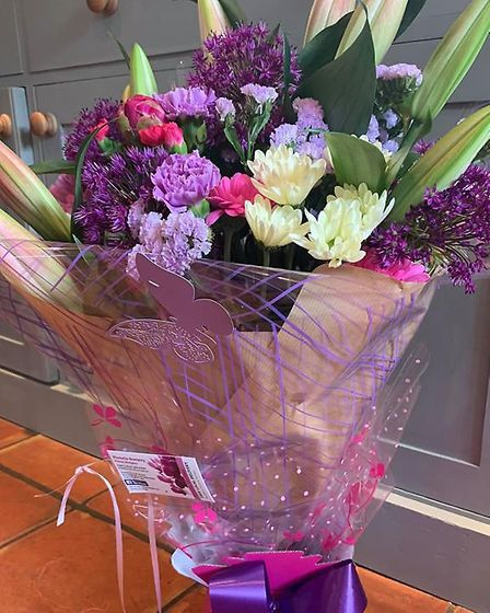 A stunning floral bouquet Picture: Victoria Orves Marshall
