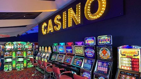 The casino at Clacton Pier is reopening to customers. Picture: CLACTON PIER