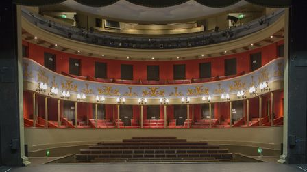 The Regency-era theatre in Bury St Edmunds has a target of �50,000 for its emergency appeal Picture: