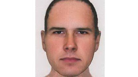 Essex Police have released an efit of man they want to speak to after a woman was bitten by a dog in