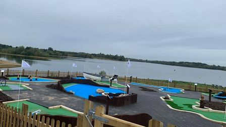 Alton Water's new miniature golf course is one of its services reopening to customers as lockdown is