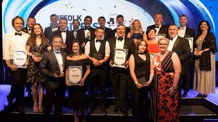 Suffolk Business Awards 2019 Picture: SARAH LUCY BROWN