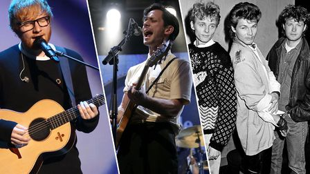 Ed Sheeran, British Sea Power and A-ha have all filmed music videos in Suffolk Picture: PA ARCHIVES/