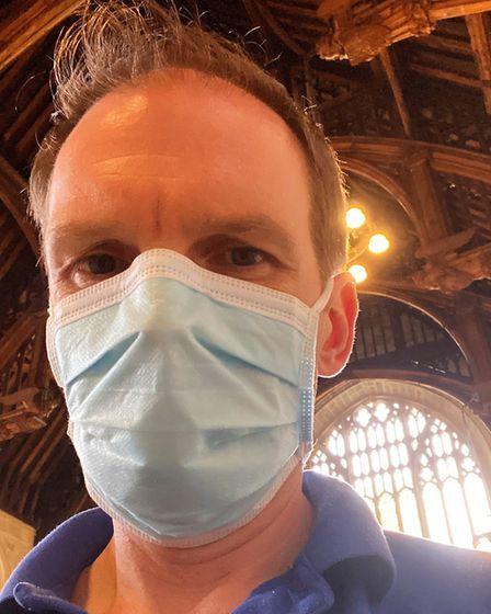 Dr Dan Poulter, who works in the NHS as a mental health doctor Picture: DR DAN POULTER