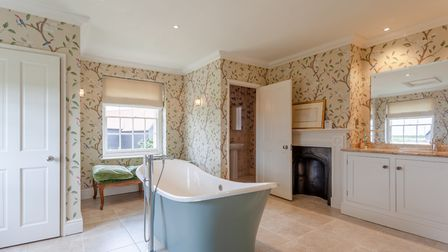 Preston Manor in Preston St Mary has recently been renovated Picture: JIM TANFIELD