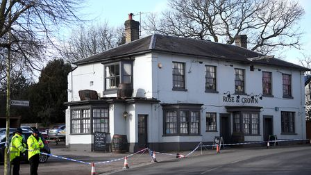 Liam Taylor died after being stabbed outside the Rose and Crown pub in Writtle Picture: VICTORIA JON