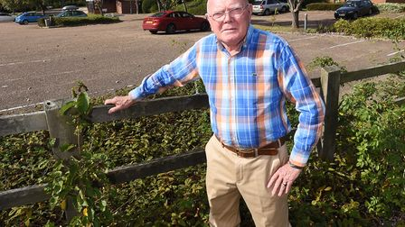 West Suffolk councillor Frank Warby has resigned from the Conservatives and from West Suffolk Counci