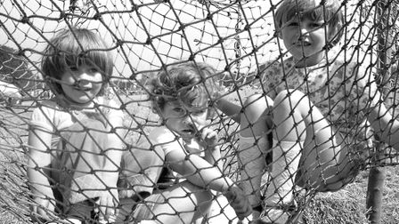 Having some fun at The Rougham Tree Fair in August 1978 Picture: ARCHANT