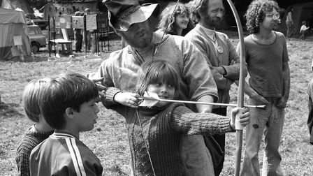 Having fun at Rougham Tree Fair in August 1980 Picture: ARCHANT
