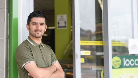 Owner of Your Local, in St Matthews Street, Ipswich, Adib Mahmudi Picture: SARAH LUCY BROWN