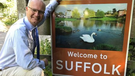 Suffolk County Council leader Matthew Hicks has written of his love of the county Picture: SUFFOLK C