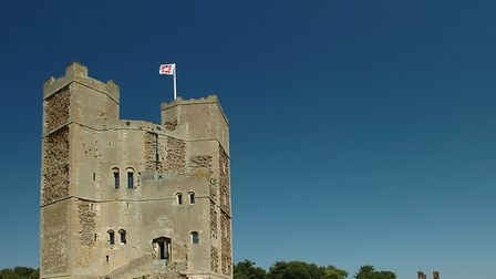 Suffolk's Orford Castle, built by Paul Cook's 24th great-grandfather King Henry II Picture: Getty Im