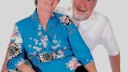 Paul Cook and his wife Margaret. Paul has spent the last 15 years uncovering both of their families'
