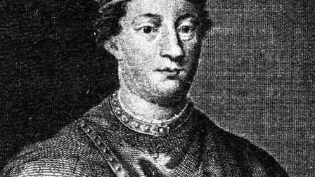 A depiction of King Henry II, Paul Cook's 24th great-grandfather. Picture: PA Archive/PA Images
