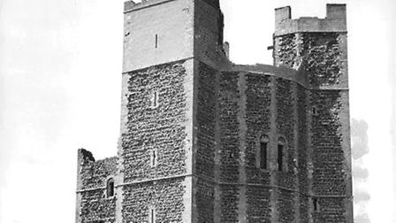 Orford Castle in Suffolk was built by Henry II of England, between 1165 and 1173, to consolidate roy