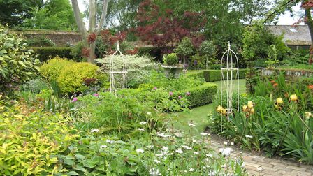 Moat House at Little Saxham is opening its gardens via the National Garden Scheme this weekend Pictu