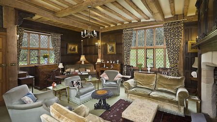 The famous Ballingdon Hall has now gone on the market for �1.9 million in Sudbury. Picture: NICHOLAS