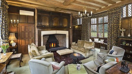 In its day, Ballingdon Hall was considered the �chief Baronial residence� in the neighbourhood of Su