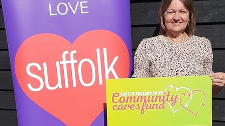 The Co-op's Community Cares Fund donation will be distributed by Suffolk Community Foundation to ref
