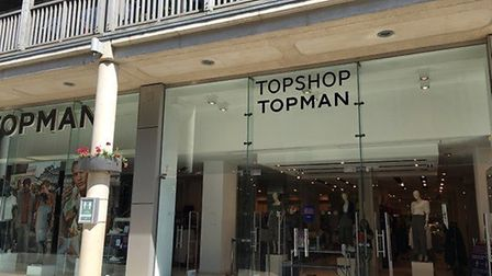 At the Arc shopping centre retailers open today included Topshop, FatFace and Pandora Picture: MARIA