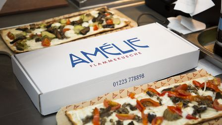 Amelie flam-kuche, which can now be delivered Picture: INDIE CAMBRIDGE