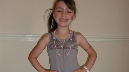 Sophie was just 10 years old when died from a brain tumour Picture: BELL FAMILY