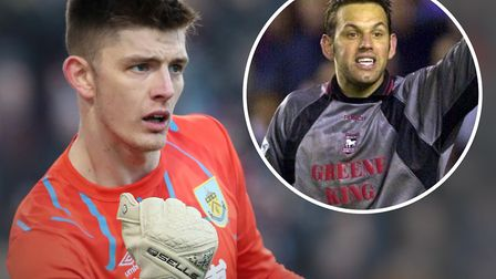 Nick Pope was inspired by Richard Wright while a young Ipswich Town season ticket holder. Picture: P