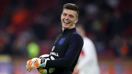England goalkeeper Nick Pope grew up as an Ipswich Town fan. Picture: PA