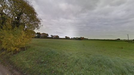 A new 188,000 bird chicken farm is planned near to Thorndon in Suffolk. Picture: GOOGLE MAPS