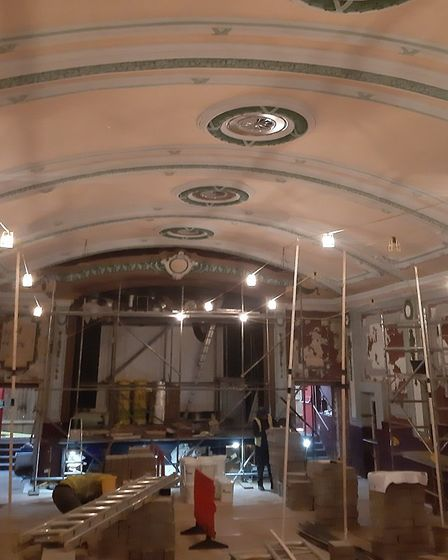 The Electric Palace has been refurbished thanks to several grants and donations from the public Pict