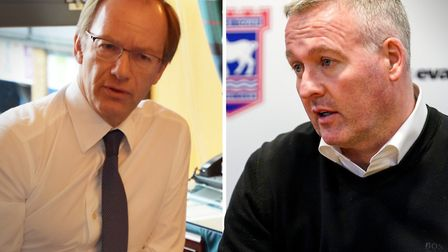 Marcus Evans and Paul Lambert will meet next week to discuss budgets for next season. Picture: ARCHA