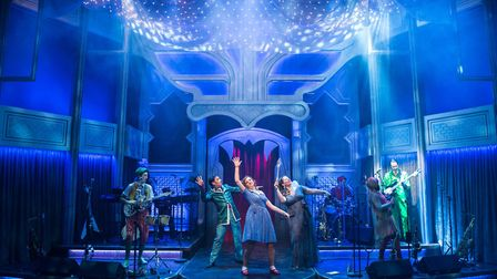 The rock'n'roll panto at the New Wolsey Theatre is one of the theatre's big moneyspinners and they h