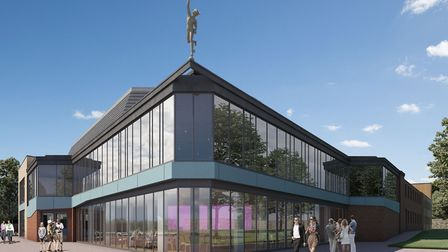 Artist's impression of how the new-look Mercury Theatre may appear when it opens after lockdown Pi
