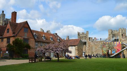 Framlingham Castle will reopen in July, English Heritage have confirmed Picture: ANDREW STILES