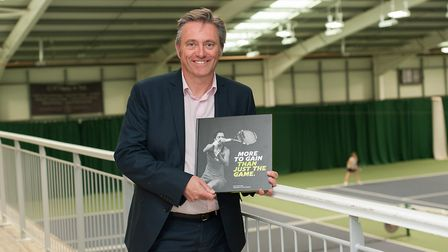 Dave Courteen has seen his book shortlisted for the Telegraph Sports Book Awards Picture: RICHARD DA