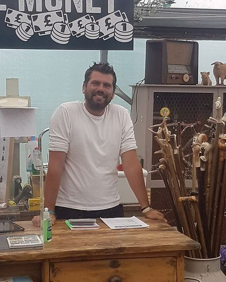 Keith Bodsworth ready to welcome customers Picture: The Potting Shed