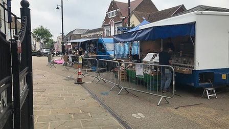 The council are also working closely with cafes and restaurants in the town centre to help create sa