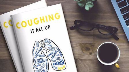 Luke's book'Coughing It All Up - Chronicles of a Remarkable Life despite Cystic Fibrosis' is about h