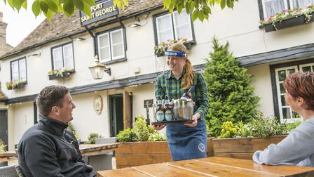How Greene King customers will be served in pubs under strict new social distancing rules Picture: