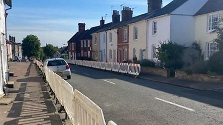 The parish council have said the barriers 'bore no resemblance' to the scheme agreed on by the paris