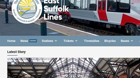 The East Suffolk Lines partnership does much to promote the rail lines in the area. Picture: GREATER