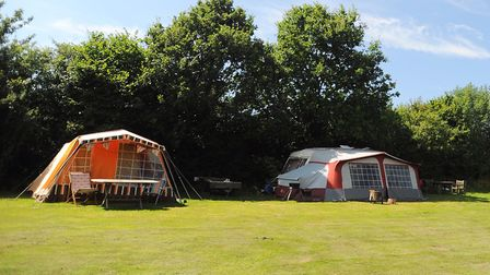 Campsites in Suffolk may look different when they reopen Picture: GREGG BROWN